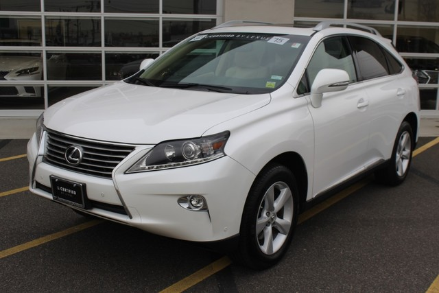 Photo Certified Pre-Owned 2015 Lexus RX 350 Navigation All Wheel Drive SUV