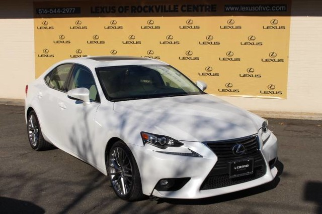 Photo Certified Pre-Owned 2016 Lexus IS 300 AWD Navigation LCertified With Navigation