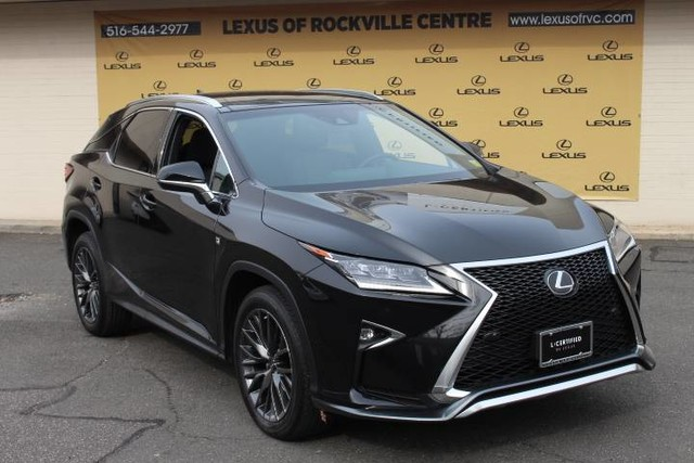 Photo Certified Pre-Owned 2016 Lexus RX 350 AWD F-SPORT F-SPORT LCERTIFIED With Navigation