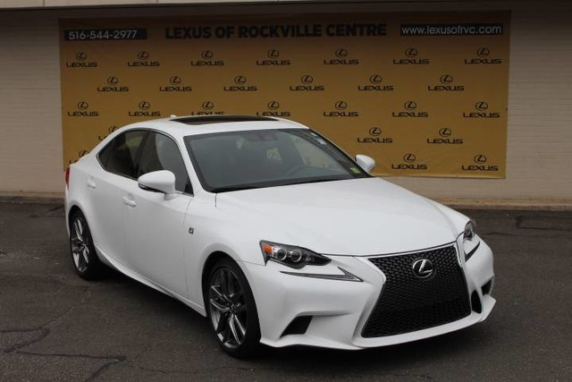 Photo Certified Pre-Owned 2015 Lexus IS 350 AWD F-SPORT LCERTIFIED With Navigation