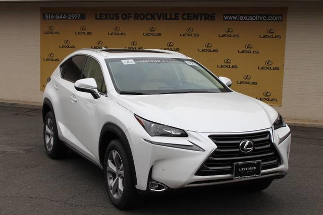 Photo Certified Pre-Owned 2017 Lexus NX 200T AWD LCERTIFIED All Wheel Drive SUV