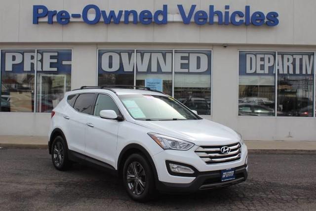 Photo Pre-Owned 2014 Hyundai Santa Fe Sport ONE OWNER All Wheel Drive SUV