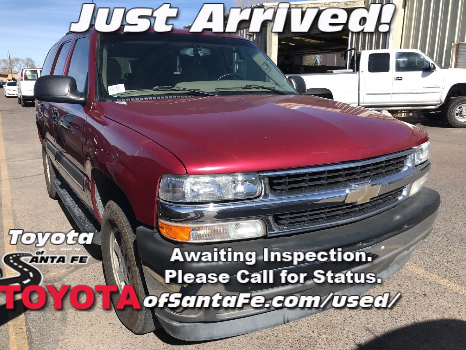 Photo Pre-Owned 2005 Chevrolet Tahoe LS RWD Sport Utility Vehicle