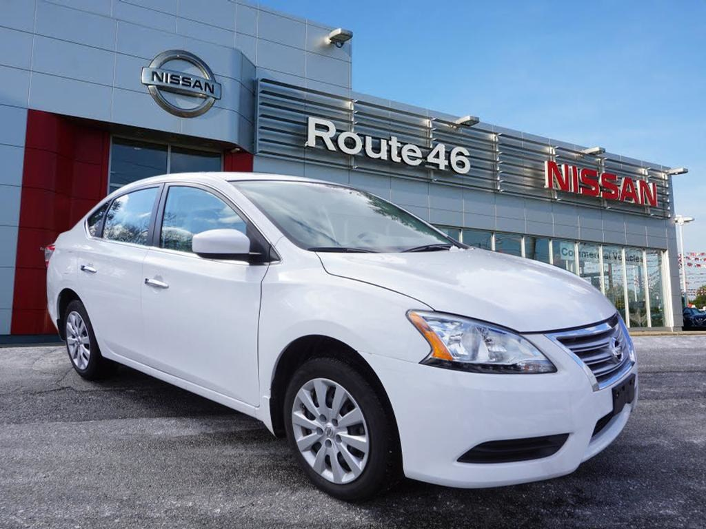 Photo Used 2015 Nissan Sentra S Sedan for sale in Totowa NJ
