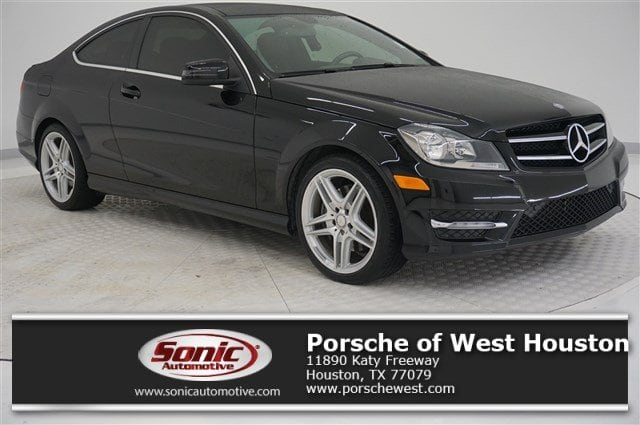 Photo 2015 Mercedes-Benz C-Class C 350 2dr Cpe RWD in Houston