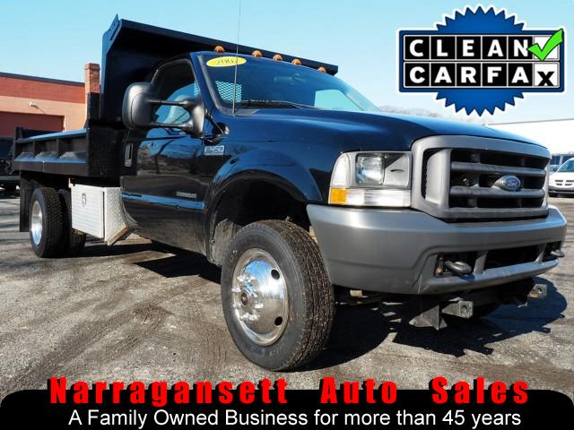 Photo 2002 Ford F-450 SD Dump Truck 7.3 Diesel Auto Air Plow Ready 117K