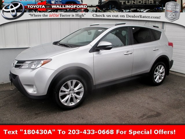 Photo Certified Used 2015 Toyota RAV4 Limited For Sale in Wallingford CT  2T3DFREV9FW271040