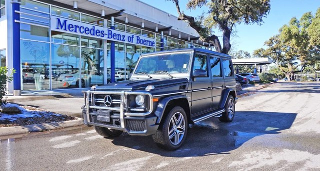 Photo Certified Pre-Owned 2016 Mercedes-Benz G-Class AMG G 63 Four Wheel Drive SUV
