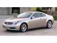 2003 INFINITI G35 Coupe w/Leather 2dr Car