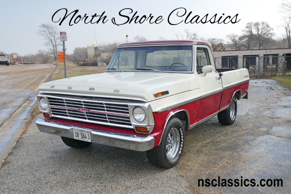 Photo 1969 Ford F100 -RANGER-NORTH CAROLINA PICK UP- ORIGINAL PAINT SCHEME- SEE VIDEO
