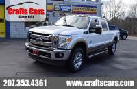 2012 Ford F-250 Lariat - Powerstroke DIESEL - Leather - FX4 Truck Crew Cab