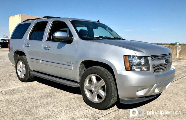 Photo Used 2013 Chevrolet Tahoe LTZ, Alloy Wheels, Leather Seats, Heated and Cooli SUV For Sale San Antonio, TX