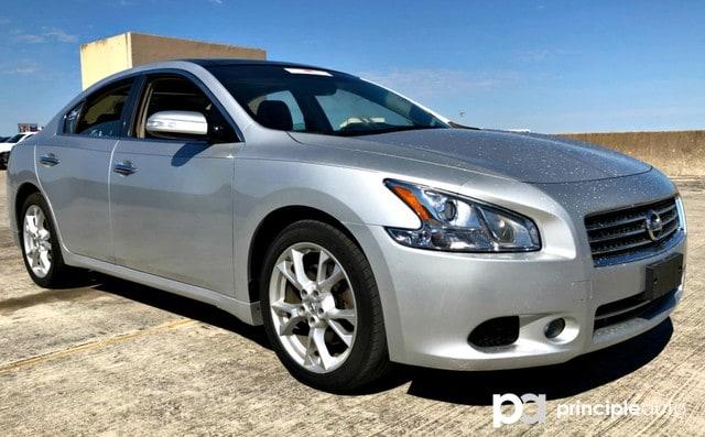 Photo Used 2014 Nissan Maxima 3.5 SV, Leather Seats, Heated Seats, Power Seats, Sedan For Sale San Antonio, TX