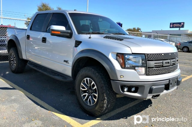 Photo Used 2012 Ford F-150 SVT Raptor, Alloy Wheels, Leather Seats, Heated an Truck SuperCrew Cab For Sale San Antonio, TX