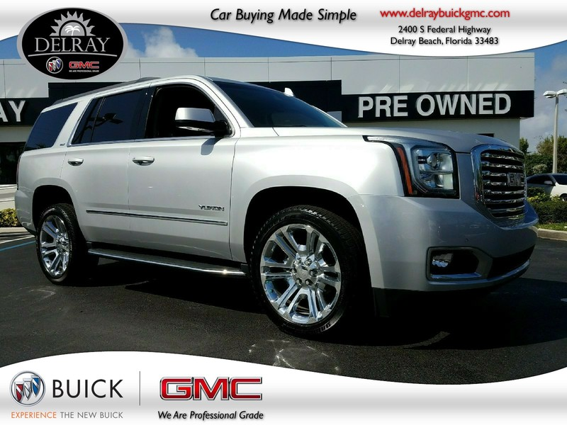 Photo Pre-Owned 2017 GMC YUKON SLT Rear Wheel Drive Sport Utility Vehicle
