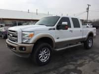 2011 Ford Super Duty F250 king ranch 6.7 diesel lifted