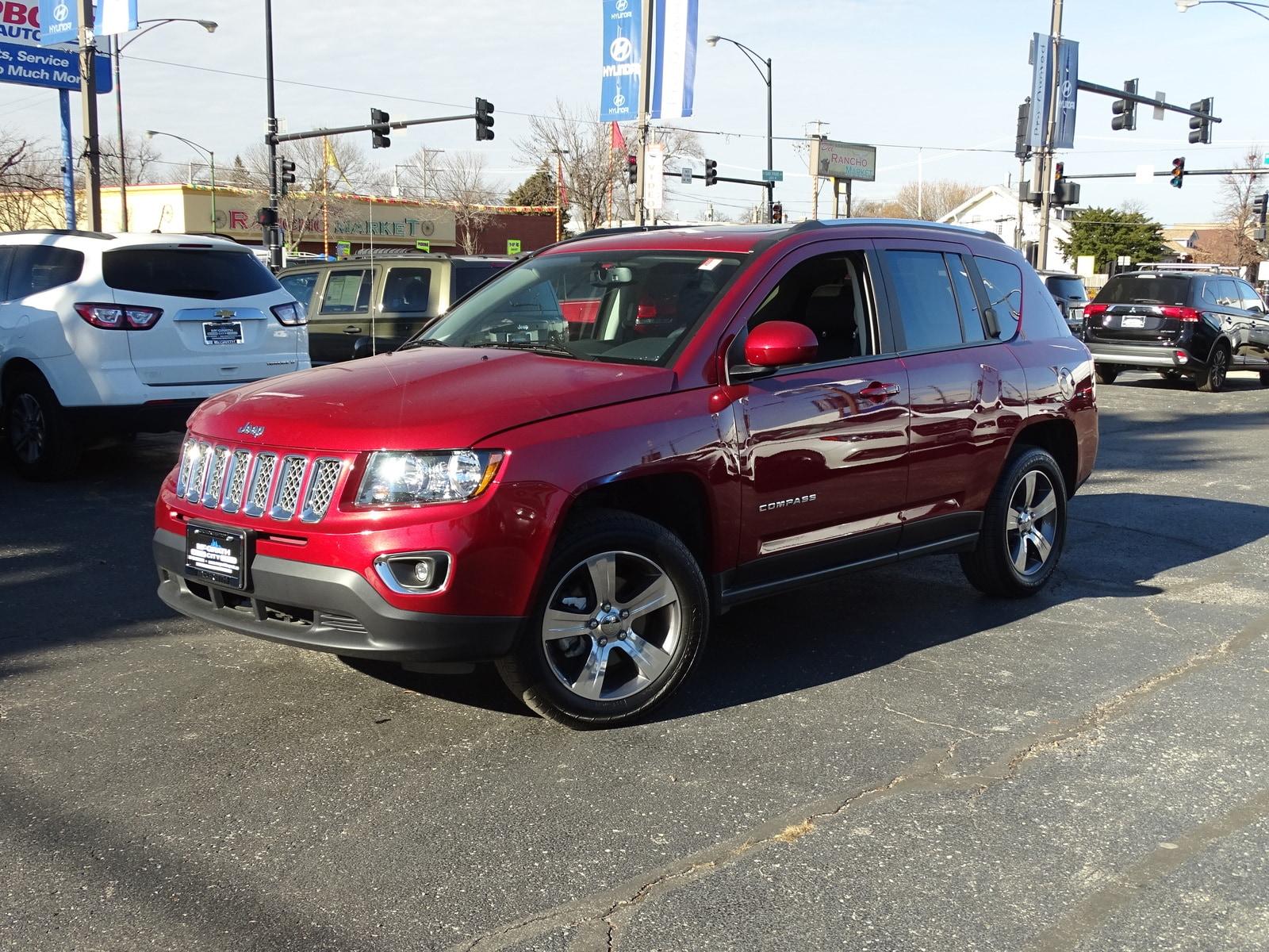 Photo Used 2017 Jeep Compass High Altitude 4x4 Ltd Avail SUV Automatic 4x4 in Chicago, IL