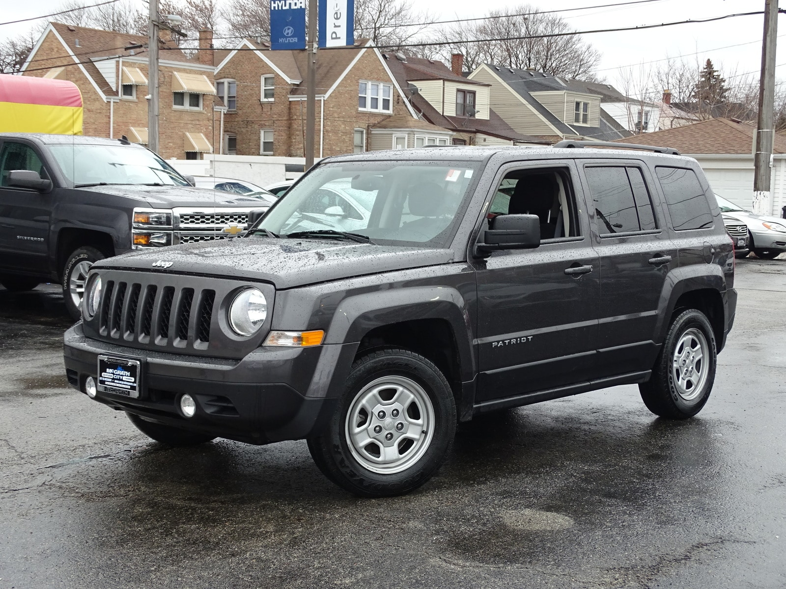 Photo Used 2016 Jeep Patriot FWD Sport SUV Automatic Front-wheel Drive in Chicago, IL