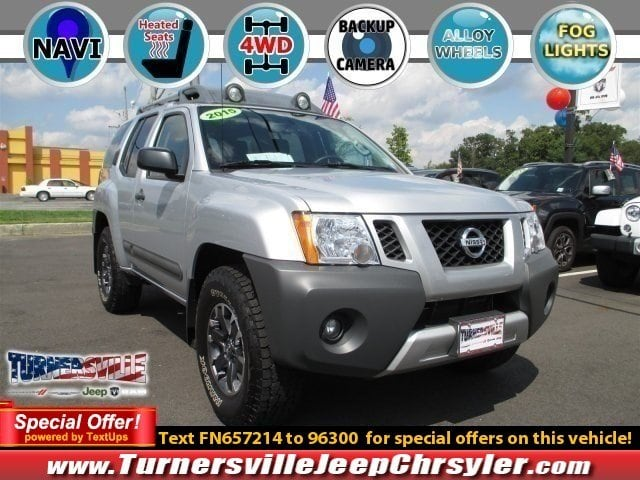 Photo 2015 Nissan Xterra PRO-4X SUV for sale in South Jersey