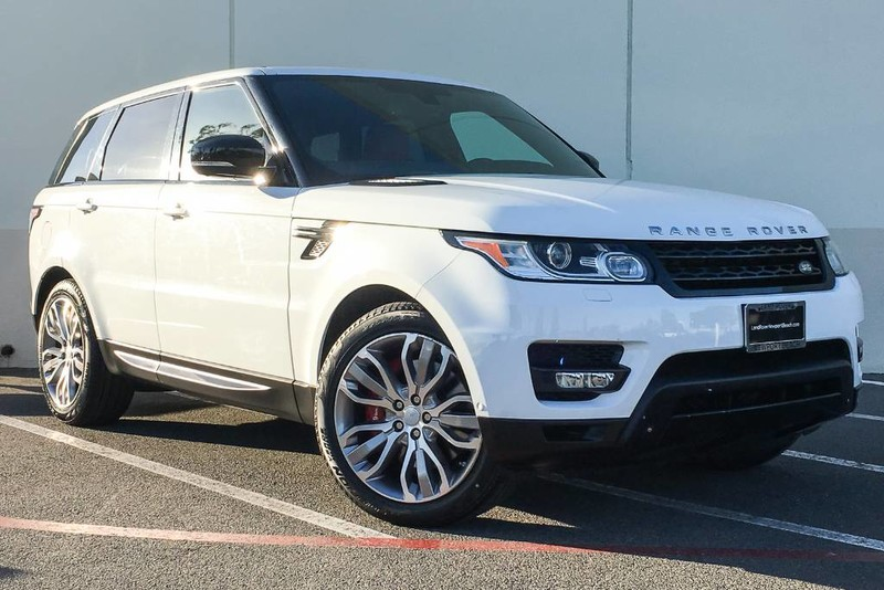 Photo Certified Pre-Owned 2015 Land Rover Range Rover Sport Supercharged Four Wheel Drive Sport Utility