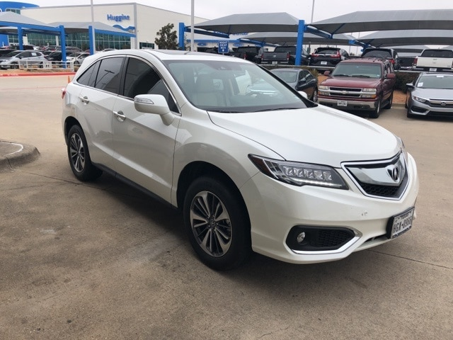Photo 2016 Acura RDX Base For Sale Near Fort Worth TX  DFW Used Car Dealer