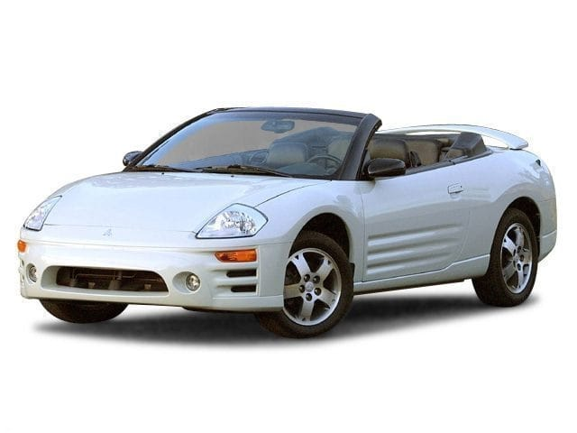 Photo Used 2003 Mitsubishi Eclipse Spyder GS Convertible Front-wheel Drive in Chicago, IL