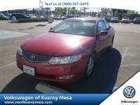2002 Toyota Camry Solara SE Coupe Front Wheel Drive