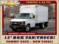 2012 Chevrolet Express Commercial Cutaway 3500 12' Supreme Box Truck/Van
