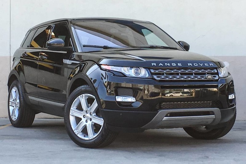 Photo Pre-Owned 2014 Land Rover Range Rover Evoque Pure Plus With Navigation