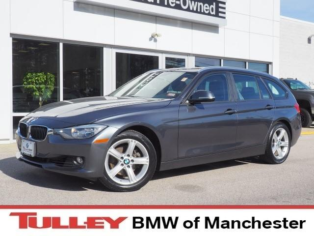 Photo 2014 Certified Used BMW 3 Series Sport Wagon 4dr Sports Wgn 328i Xdrive AWD Mineral Gray For Sale Manchester NH  Nashua  StockB18099M