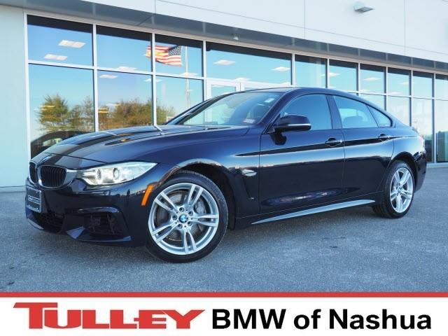 Photo 2015 Certified Used BMW 435i Gran Coupe xDrive Carbon Black For Sale Manchester NH  Nashua  StockB18432A