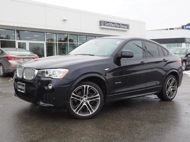 Photo 2015 Certified Used BMW X4 SUV xDrive35i Carbon Black For Sale Manchester NH  Nashua  StockB171312A