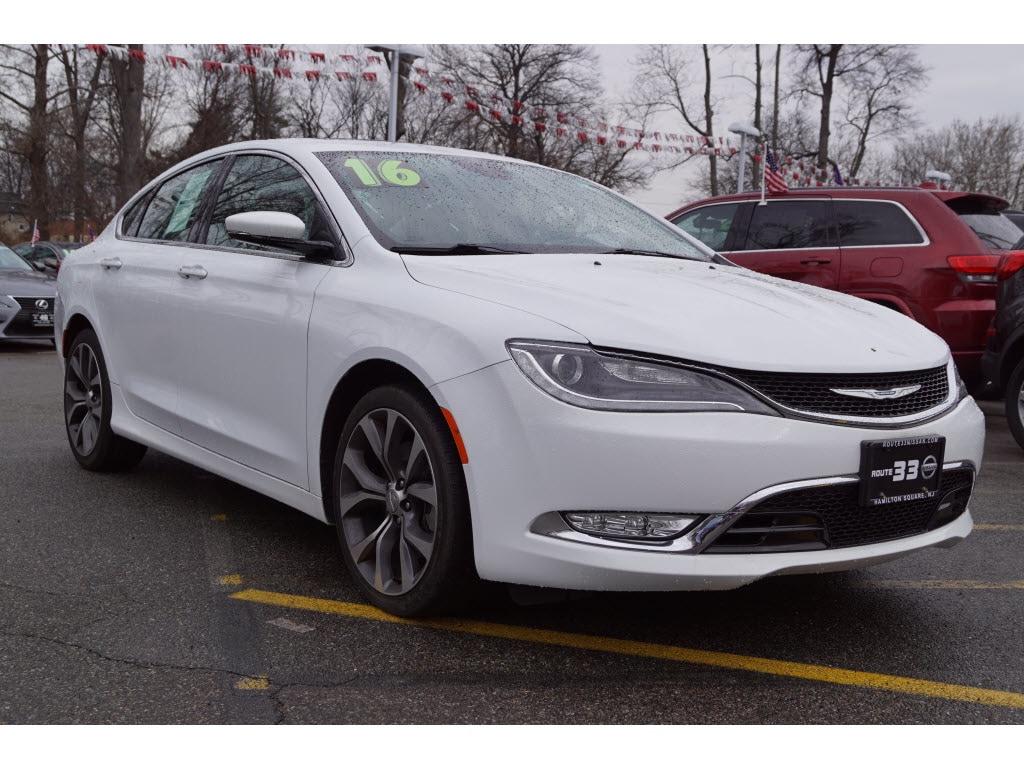 Photo Used 2016 Chrysler 200 C Sedan For Sale in Little Falls NJ
