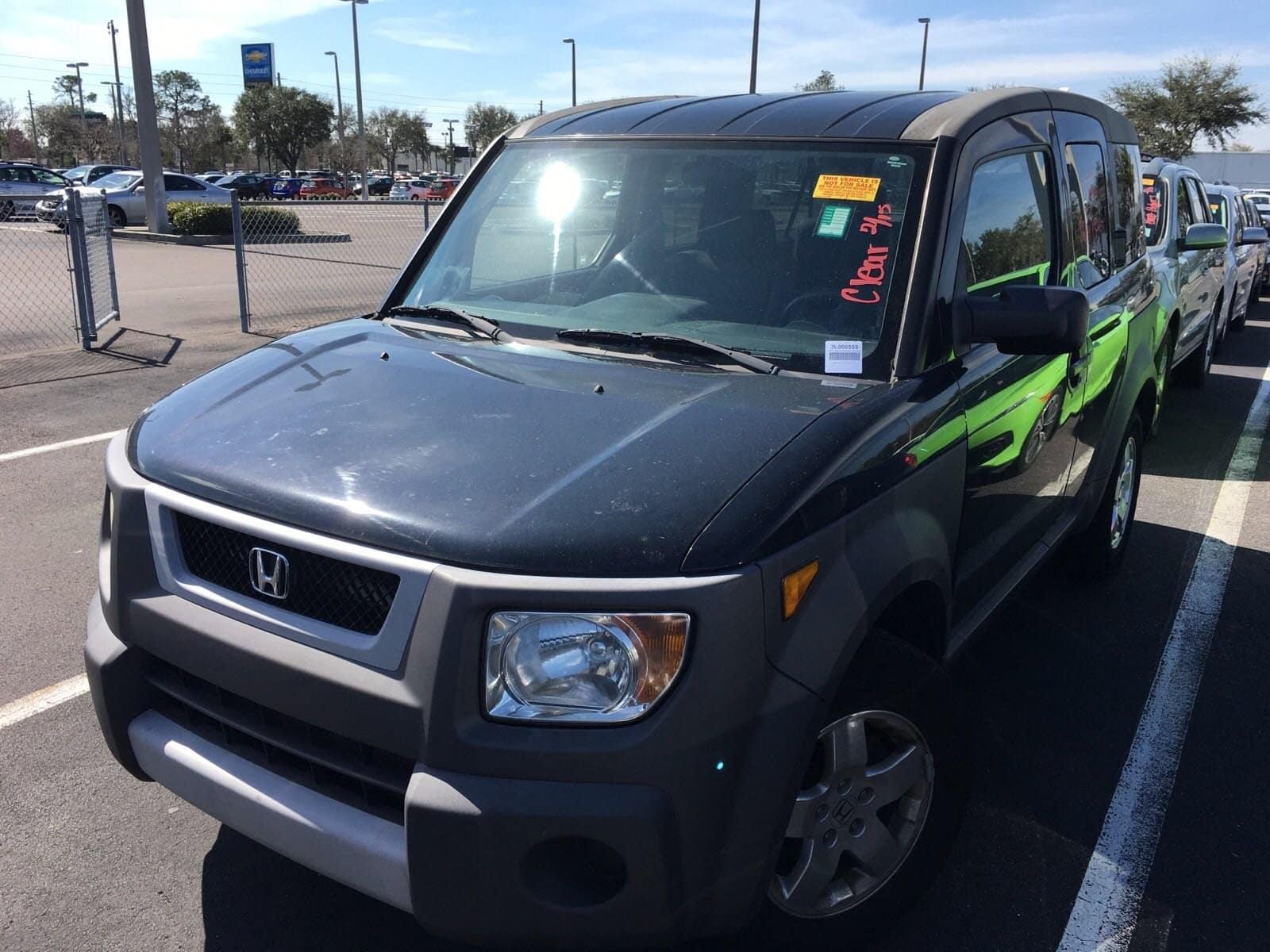 Photo Pre-Owned 2003 Honda Element EX SUV in Jacksonville FL