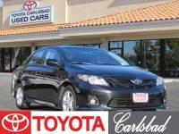 2012 Toyota Corolla S Sedan Front-wheel Drive in Carlsbad