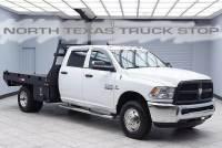 2013 Ram 3500 Tradesman Diesel 4x4 Dually Flat Bed Hauler Crew