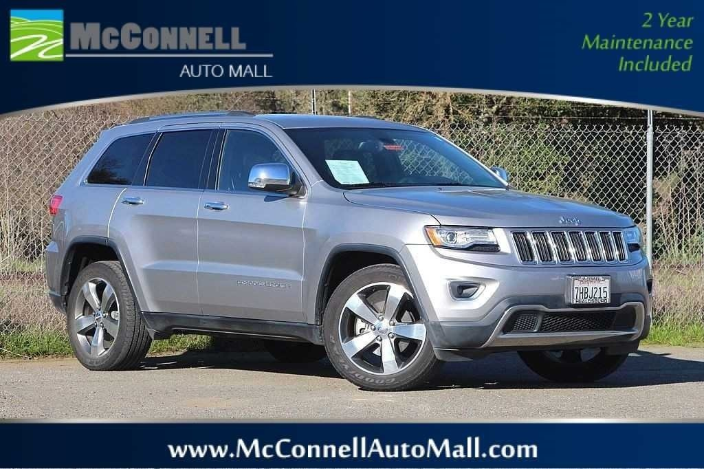Photo 2014 Jeep Grand Cherokee Limited 4x4 SUV - Certified Used Car Dealer Serving Santa Rosa  Windsor CA