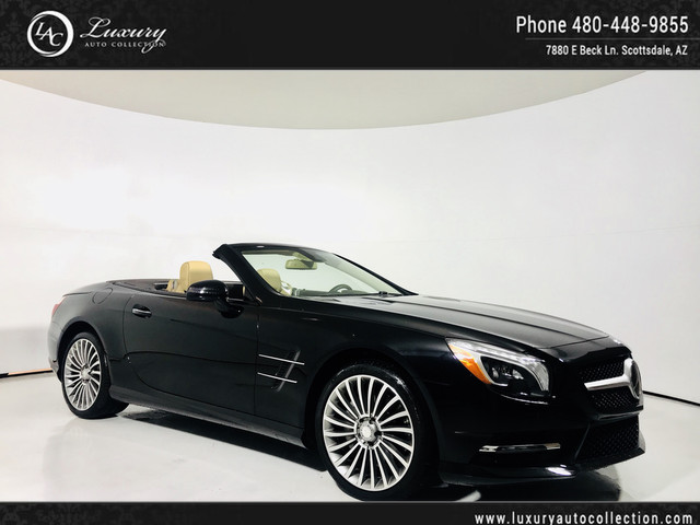 Photo 2016 Mercedes-Benz SL SL 550  Drivers Assist  Pano Roof  Distronic Plus  Lane Assist  17 18 Rear Wheel Drive Convertible