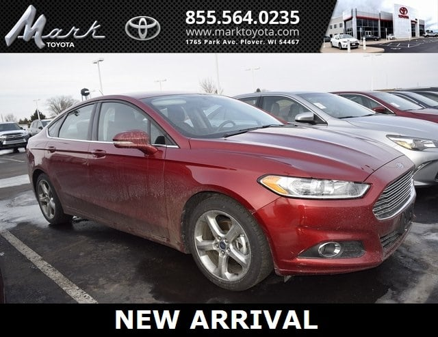 Photo Used 2015 Ford Fusion SE 1.5L EcoBoost 4cyl Engine wBluetooth MyFord To Sedan in Plover, WI