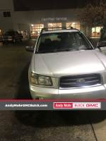 Pre-Owned 2003 Subaru Forester 2.5XS AWD 4D Sport Utility