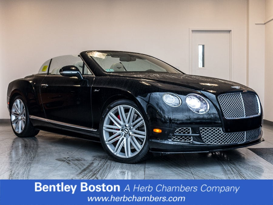 Photo Used 2015 Bentley Continental GT Speed Convertible near Boston, MA