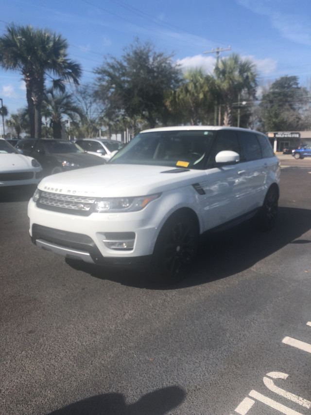 Photo Certified Pre-Owned 2014 Land Rover Range Rover Sport HSE Four Wheel Drive SUV