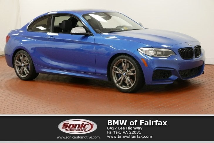 Photo Certified Used 2015 BMW 2 Series Coupe in Fairfax, VA