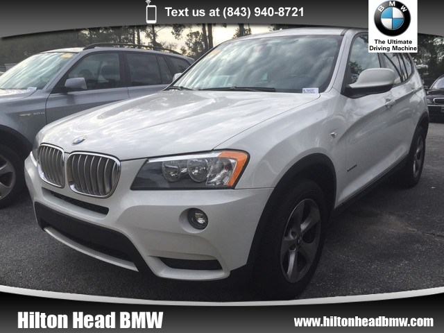 Photo 2011 BMW X3 28i  Heated Seats  Heated Steering Wheel  Park SAV All-wheel Drive