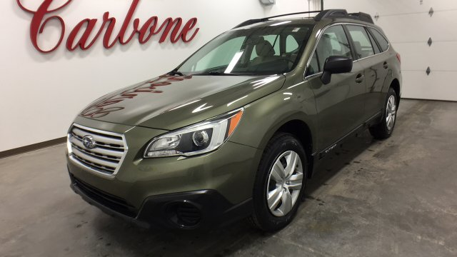 Photo Certified Pre-Owned 2015 Subaru Outback 2.5i Wagon in Utica,NY