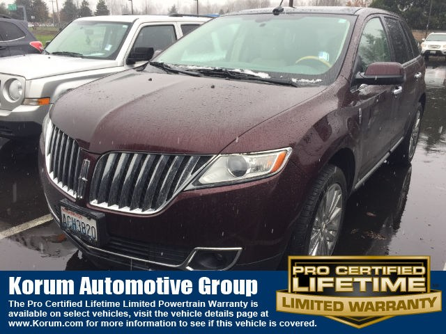 Photo Used 2011 Lincoln MKX SUV V-6 cyl for Sale in Puyallup near Tacoma