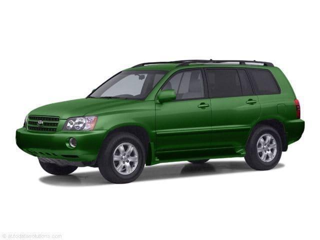 Photo 2003 Toyota Highlander Base SUV Front-wheel Drive