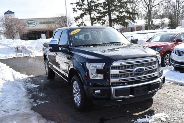 Photo 2015 Ford F-150 Platinum Pickup Truck