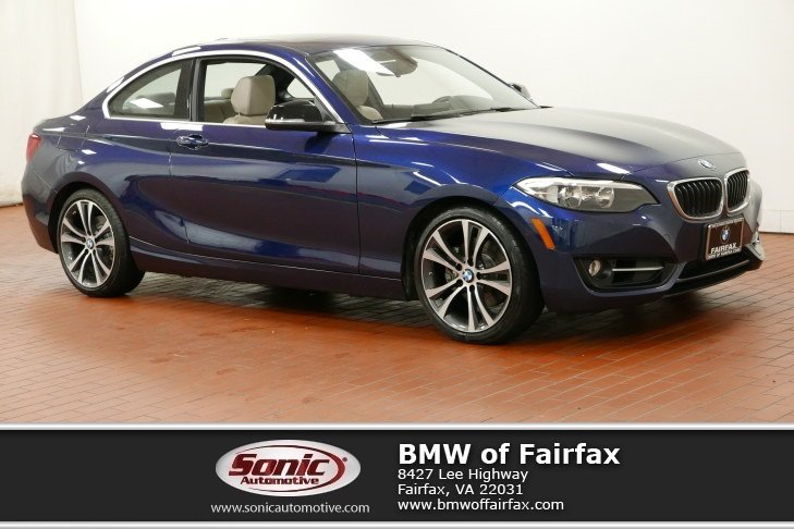Photo Certified Used 2015 BMW 228i Coupe in Fairfax, VA