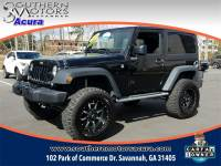 PRE-OWNED 2015 JEEP WRANGLER SPORT 4WD
